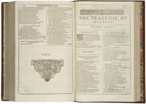 First Folio MacBeth
