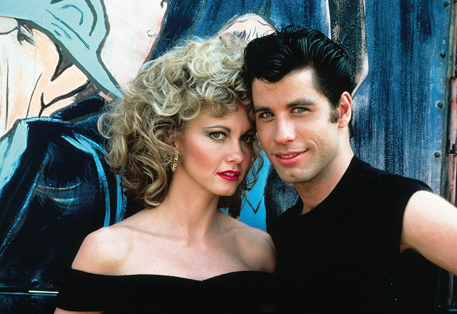"Sandy and Danny in ""Grease"""