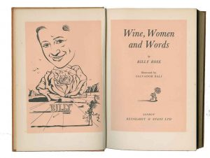 Wine, Women and Words illustrations
