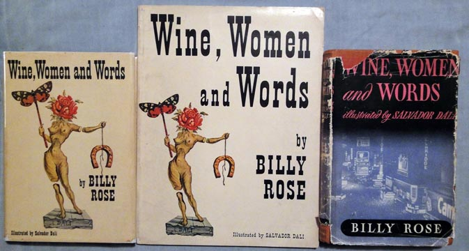 Wine, Women and Words covers