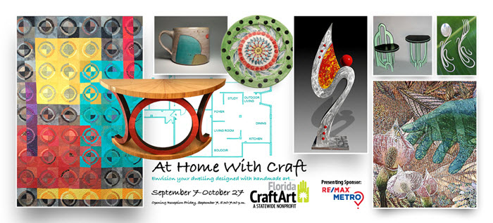 At Home With Craft exhibition at florida- CraftArt