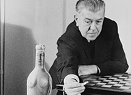 Magritte with chess board