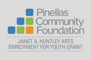 Pinellas Community Foundation Janet A Huntley Arts Enrichment for Youth Grant logo