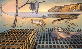 Buy Tickets to see Dali's painting The Disintegration of the Persistence of Memory