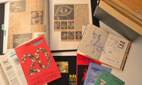 Collection of items from the archives