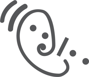 Assistive listening systems icon