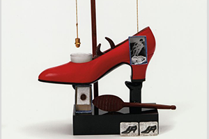 Detail of the Surrealist Object Functioning Symbolically-Gala's Shoe