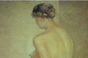 Detail of Study of a Nude