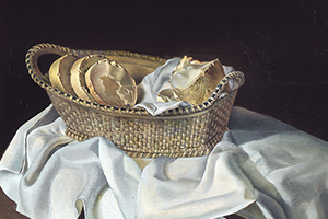 Detail of The Basket of Bread