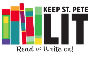 logo of Keep St. Pete Lit, sponsor of Hilarious, Mysterious & Provocative: Surrealist Literary Game Night