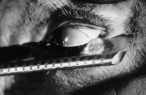 Still image of Bunuel and Dali's Un Chien Andalou