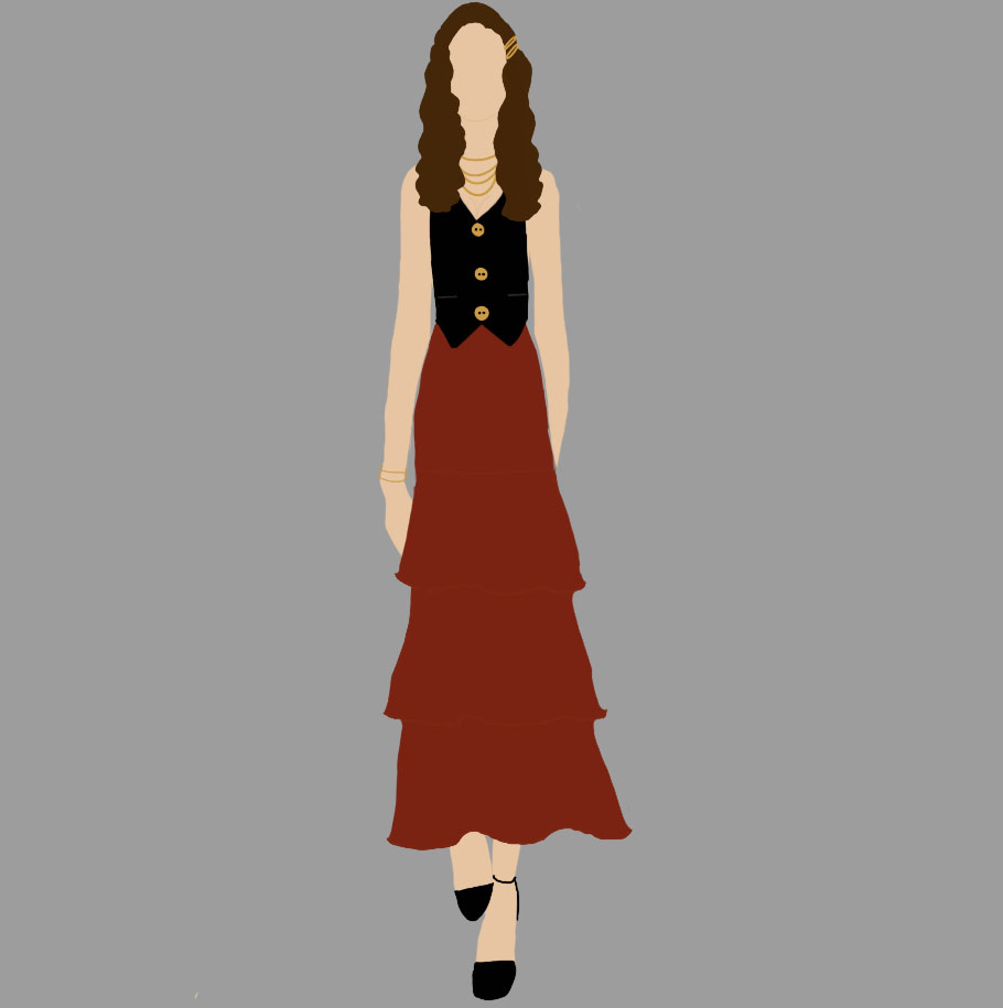 Teen Fashion rendering by Olivia Severance